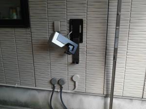 2018/9/4  家庭用電気自動車充電設備工事