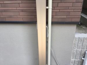 カーポート照明配線2